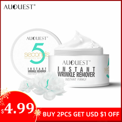 AuQuest 5 Seconds Wrinkle Remover Instant Firmly Anti Aging Moisturizing Remove Fineline Face Cream Beauty Skin Care 20G