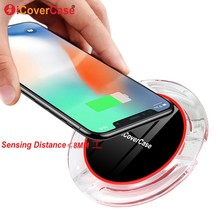 Qi Wireless Charger Fast Charging Pad Power Case For Samsung Galaxy Note 10 Pro Note10+ plus Note 10 5G Mobile Phone Accessory