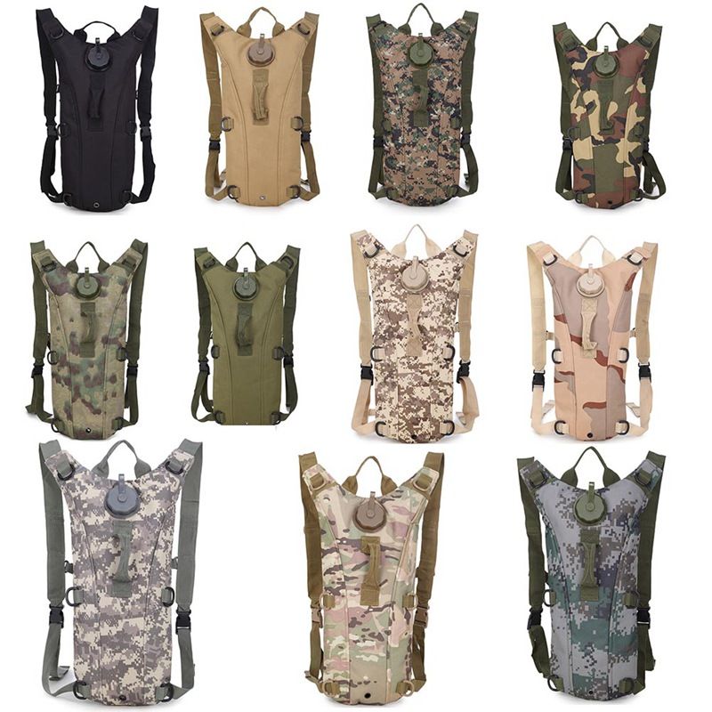 Sports Water Bag Knapsack Army Camouflage 3L Liner Field New Outdoor Backpack Bicycle Cycling Operation Safe Water Bag