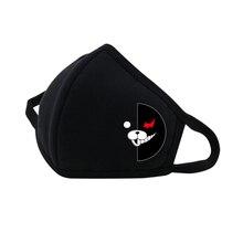Anime Danganronpa Mouth Face Mask Dustproof Breathable Facial Protective Cute Unisex Cartoon Mouth Cover Masks