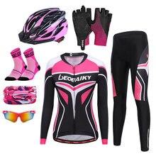 Летняя дышащая одежда для горного и шоссейного велосипеда женский