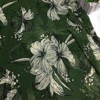 Bazin Riche Getzner Chiffon Printed Cloth Dress Material Suspender Skirt Shirt Broad legged Pants Apparel Accessories Fabrics