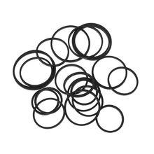 20PCS Universal Mix Cassette Tape Machine Belt Assorted Common Square Rubber Belt