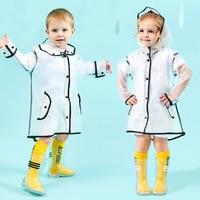 2019 Meninos Meninas Crianças Crianças Transparente À Prova de água de Chuva Sapatos Rainboots Botas de Chuva Da Criança Do Bebê Da Criança Anti slip Tamanho 24  32|Botas| |  -