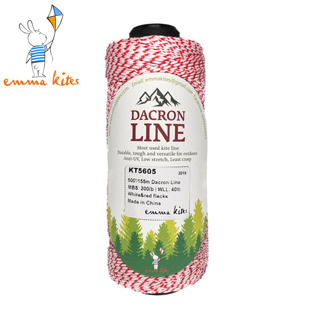 50lb - 500lb Dacron Braided Lines For Singe LIne Kite Flying Fishing Multi-functional Outdoor Use