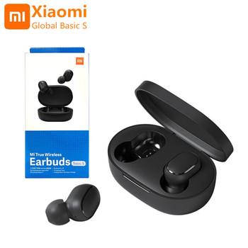 Oryginalny Xiaomi AirDots wersja globalna bezprzewodowy zestaw słuchawkowy Bluetooth Mi podstawowe S stereofoniczny zestaw słuchawkowy do gier PK Redmi AirDots TWS słuchawki douszne tanie i dobre opinie Dynamiczny CN (pochodzenie) Prawdziwie bezprzewodowe 112dB 40mW Do kafejki internetowej Słuchawki do monitora Do gier wideo