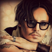 Johnny Depp Style Glasses Small Men Retro Vintage Prescripti