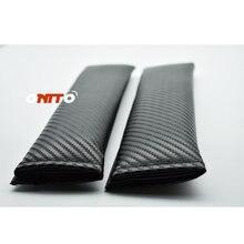 2 шт рукотворные углеродное волокно черный авто обивка сиденья