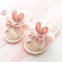 Детские тапочки; зимняя хлопковая домашняя обувь с героями мультфильмов для маленьких девочек; теплая нескользящая обувь на мягкой подошве для мальчиков; домашние тапочки; детская обувь
