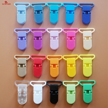 Sutoyuen 10Pcs New Plastic Baby Pacifier Clip Holder Dummy Soother Pacifier Toys Chain Holder Mam Infant Clips For 25mm Ribbon wood pacifier clip metal dummy clip nature football pattern pacifier chain soother holder baby feeding clips attache sucette