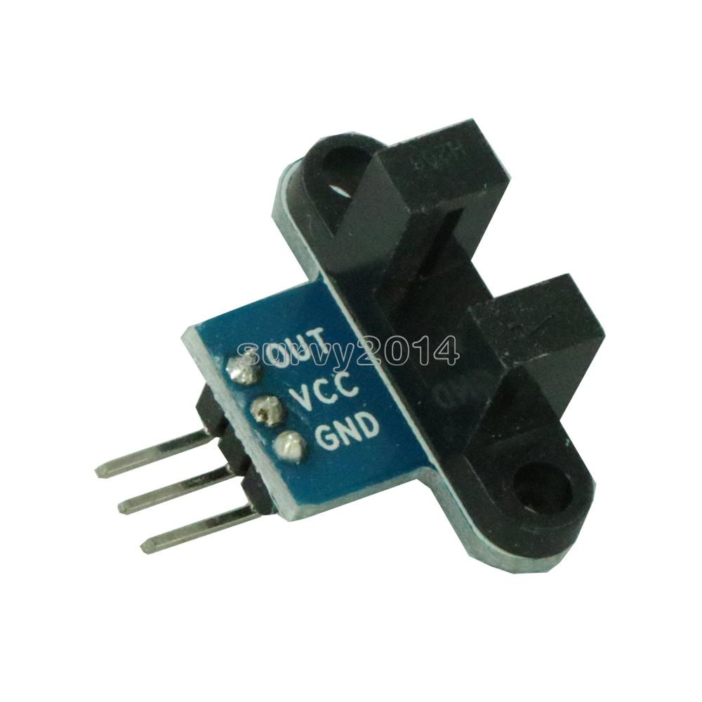 IR Infrared Slotted Optical Speed Measuring Sensor Detection Optocoupler Module For Motor Test