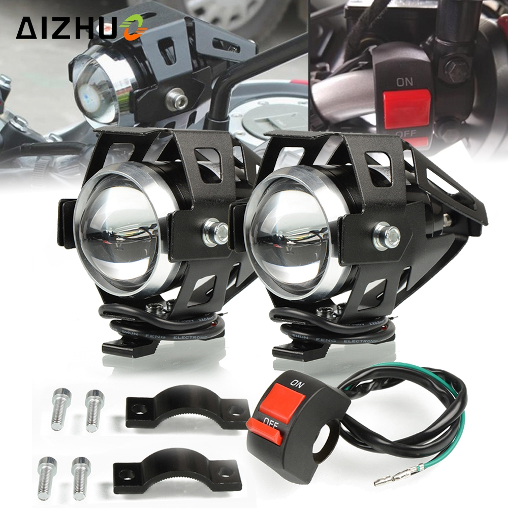 Motorcycle Headlights U5 Headlamp Spotlights Fog Head Light for SUZUKI GSXS1000 SV 400 SV 650 DL 650 V-Strom SV650 SV400 ltz 400