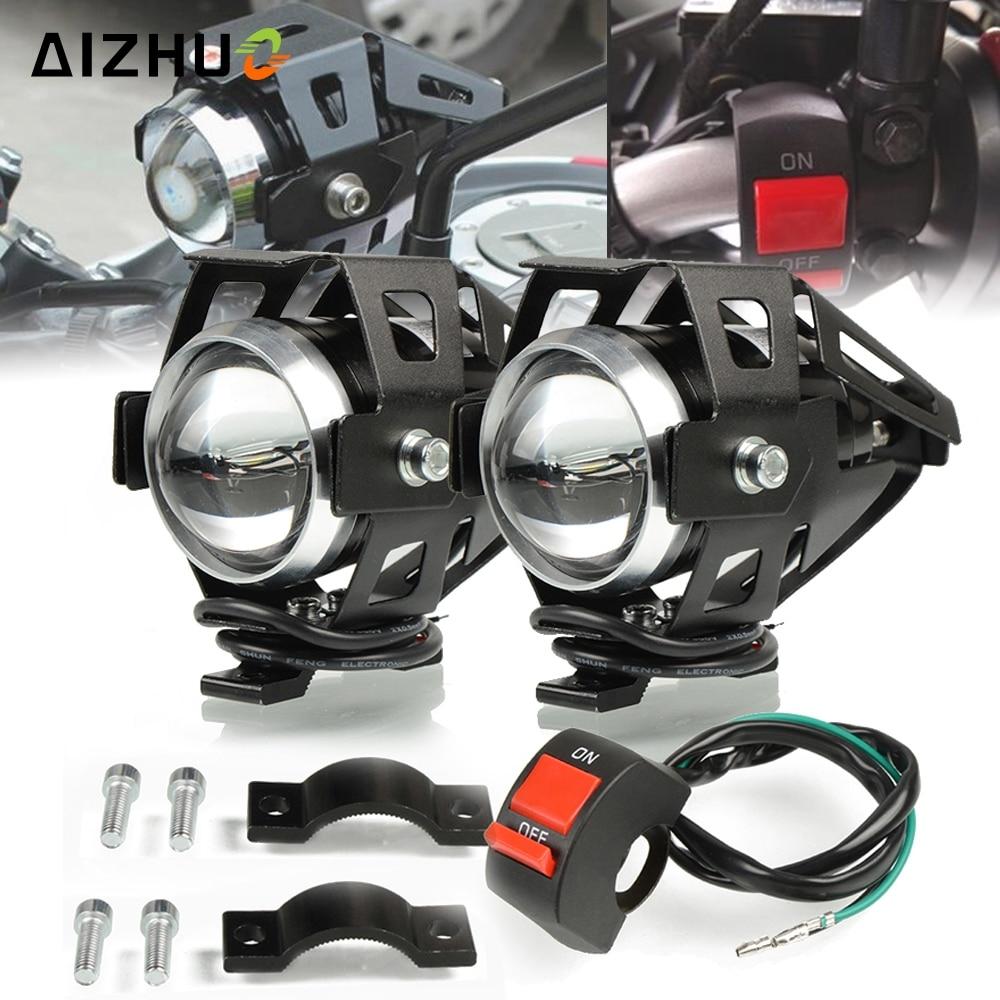 Motorcycle Headlights U5 Headlamp Spotlights Fog Head Light For SUZUKI GSXS1000 SV 400 SV 650 DL 650 V-Strom SV650 SV400 Ltz 400