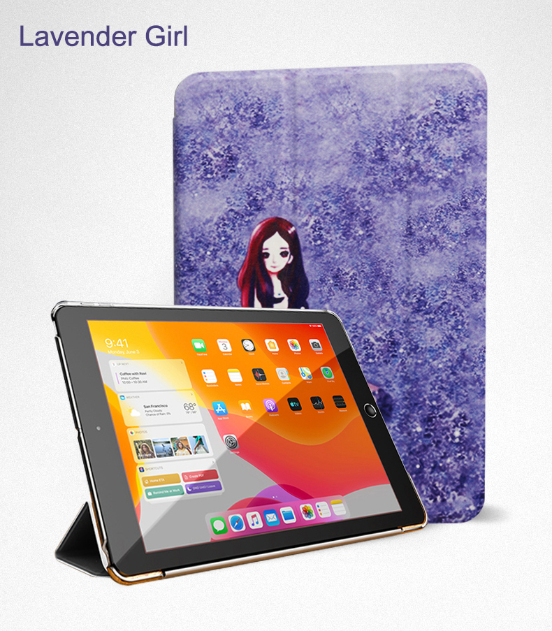 Wake PU Air Case Flip Leather Smart Full 10.9 iPad Stand Cover 2020 Trifold Auto For