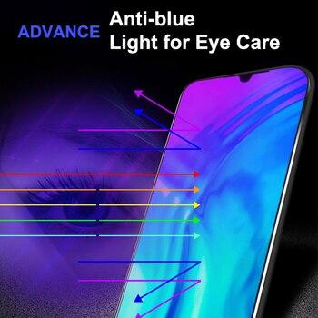 Перейти на Алиэкспресс и купить Изогнутое закаленное стекло с защитой от синего света для экрана мобильного телефона для Huawei Honor 20/20i/20 Pro/20S/20 Youth Edition/30S/30