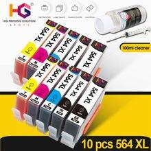 Чернильный картридж для hp 564xl 564 xl deskjet 3520 3522 officejet