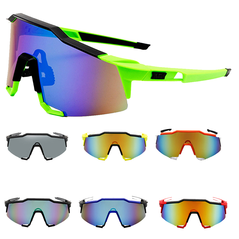 Men Women Dust-proof Windproof Goggles Colorful Cycling Eyewear UV400 Sunglasses Outdoor Fishing Climbing Rotective Glasses
