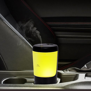 Essential oil Diffuser Air Humidifier with LED Lamp Ultrasonic Cool Mist Aroma Diffuser Mini Portable USB Aromatherapy Difusor mini led ice cream ultrasonic humidificador usb air humidifier for car home aromatherapy essential diffuser with aroma lamp