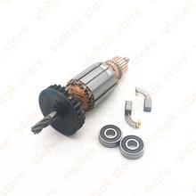 AC220V   240V 5 denti C210716E 360720E Armatura Rotore per HITACHI DH24PB3 DH24PC3 DH24PM Strumento di Potere Accessori strumenti di parte
