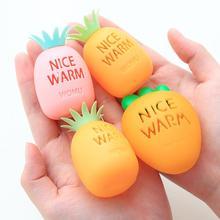 Безвредная саморазогревающаяся плита, грелка для рук, яйцо, милая морковка, форма ананаса, теплая паста, для рук, яйцо, замена ядра
