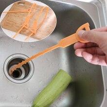 Для ванной для кухни для раковины дренажная трубка дренажная для стока трубы для очистки волос для душа Очищающая тряпка канализационная с пластиковым крюком инструменты для дома