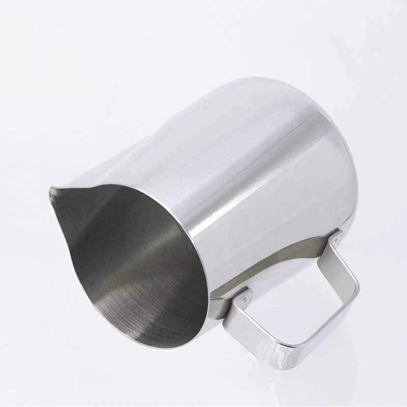 コーヒーミルク起泡投手内蔵温度計、ステンレス鋼 (20 オンス/600 ミリリットル)