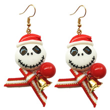 2019 Rushed Limited Tin Alloy Lovers Aretes Tassel Earrings Europe And The Christmas Ornaments Lovely Bowknot