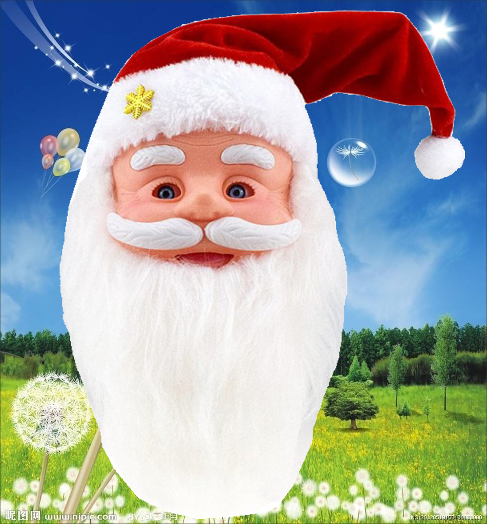 Will Move The Hat Can Sing Speak Christmas LOTORY Doll Electric Santa Claus Toy Christmas Gift