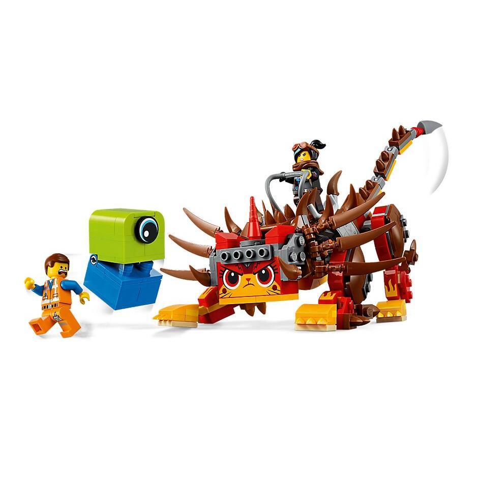 MOVIE 2 Ultrakatty Warrior Lucy Building Blocks Kit Bricks Classic Movie Model Kids Toys For Children Gift | Model Building