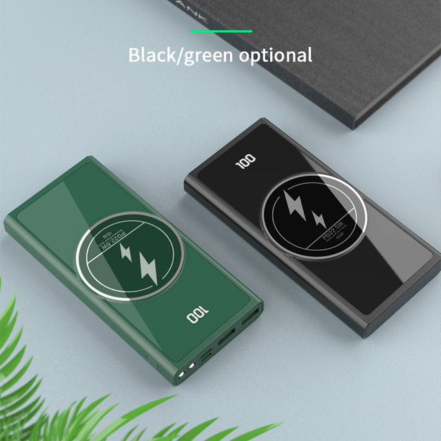 FLOVEME PD22.5W Power Bank 1000mAh Magnetic Powerbank Wireless Fast Charge External Battery Portable Charger Phone Accessories 6
