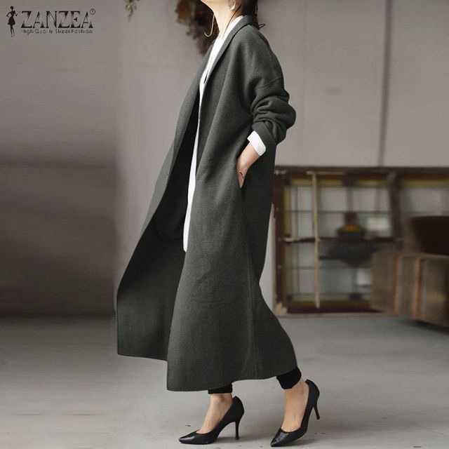 Фото женское пальто 2021 модная женская верхняя одежда с отложным цена