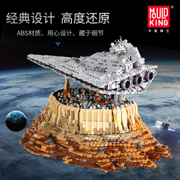 Star Plan Wars Series Bricks Empire Over Jedha City Set Building Blocks MOC 18916 Model Compatible with lepining Kids Toys Gifts 2