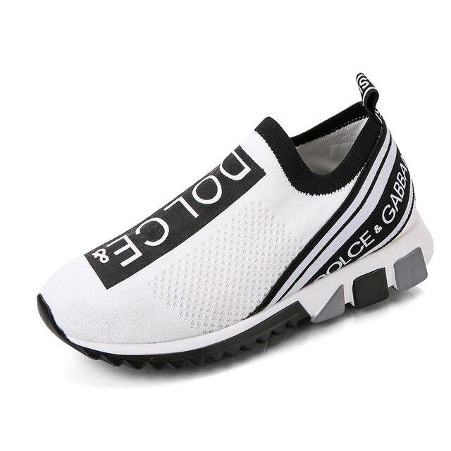 Zapatillas de deporte Unisex para hombre y Mujer, zapatos planos de lujo para caminar 6