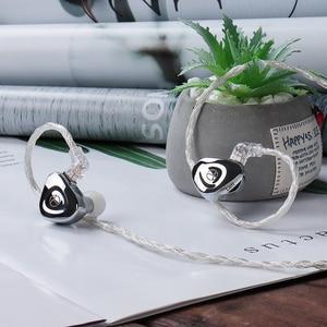Image 3 - 2021 TRN BA15 30BA HIFI หูฟัง Balanced Armature In Ear หูฟังโลหะ Monitor ชุดหูฟังหูฟังหูฟัง TRN BA8 VX TA1
