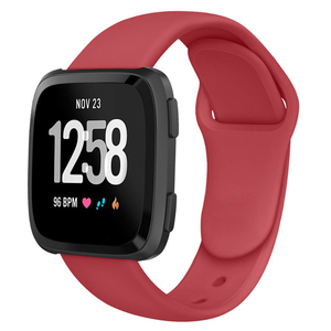 Image 5 - Band For Fitbit Versa Strap Reverse Watch Buckle Replacement  Bracelet for Fitbit Versa Lite strap Silicone Smartwatch Wrist