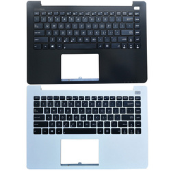 Новый ноутбук для ASUS X402, X402C, X402CA, F402, F420C, белый, черный, с подставкой для рук, верхний чехол с клавиатурой