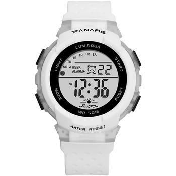 panars sports military children s watches student kids digital watch camouflage green fashion colorful led alarm clock for boys PANARS NEW Student Girls Boys Children Watch Digital Waterproof Hollow Soft Strap Colorful Luminous Alarm Clock montre enfant