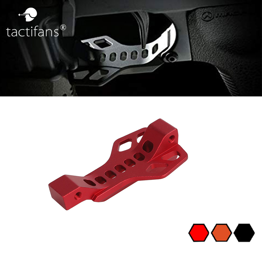 Gel Blaster AR15 M16 Enlarged CNC Aluminum SI Trigger Guard Bow <font><b>416</b></font> NATO 5.56 Magazine Assist Finger Rest Toy Gun Accessories image