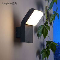 Waterproof LED outdoor wall lights adjustable lighting industrial home Garden wall lamps ballcony hallway aisle porch lights 9W