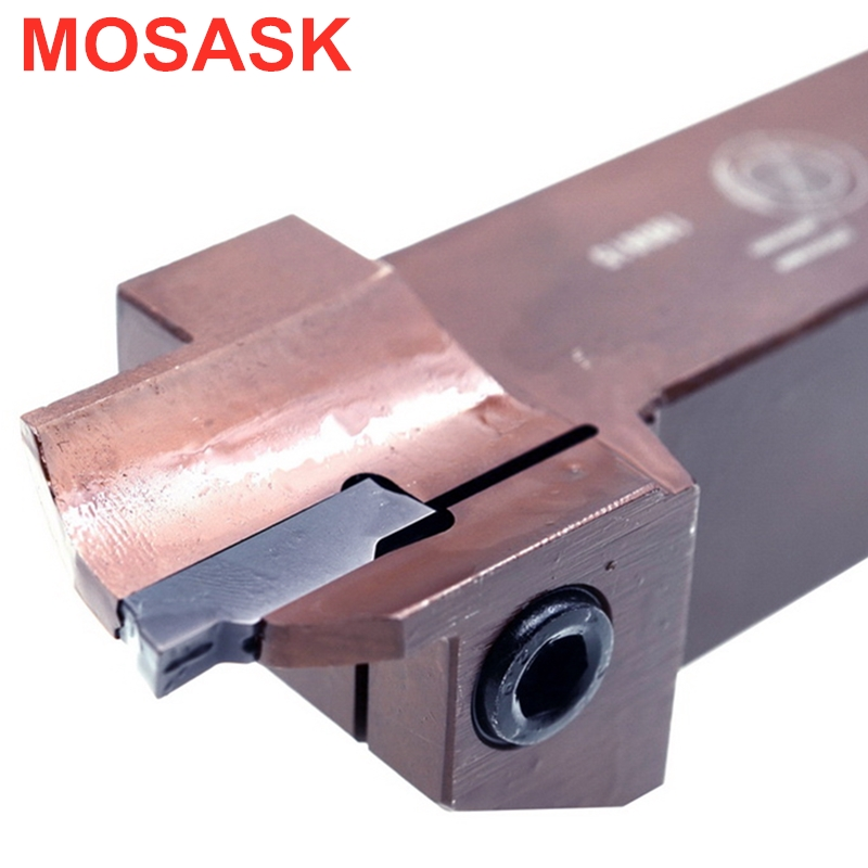 MOSASK MGHH Cutter MGHH320R13-30-50 Toolholders Machining End Face CNC Lathe Arbor Inner Hole Grooving Turning Tool