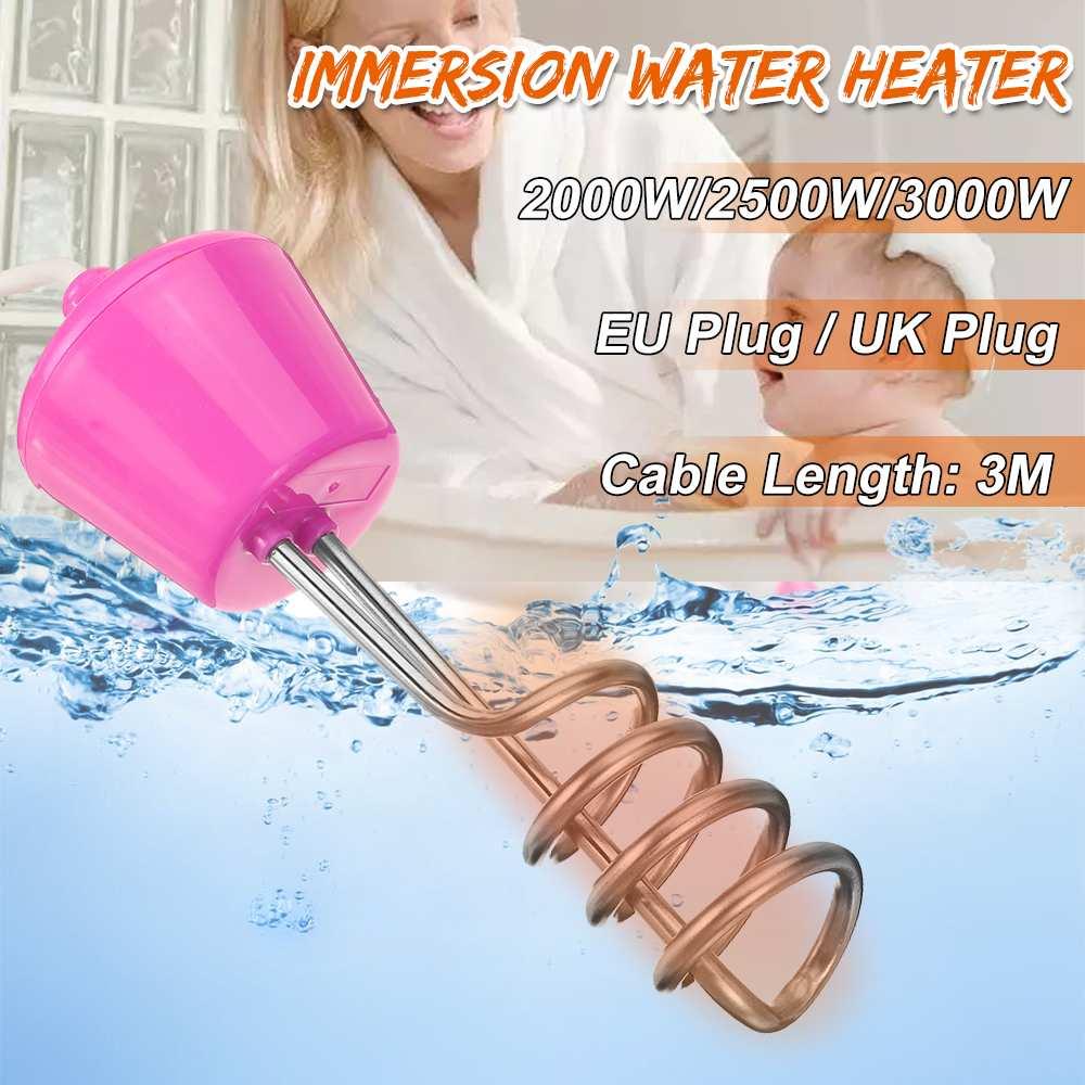 2000//2500W 220V Water Heater Rod Electric Immersion Element Boiler Bath Tub Pool