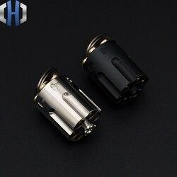 Revolver Fingertip Gyro Messer Titan Legierung Körper Abnehmbare EDC Erwachsene Dekompression Spielzeug