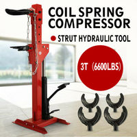 Free shipping for RU Auto Coil Spring Compressor 6600lbs Hydraulic Tool Coil spring Essential tool