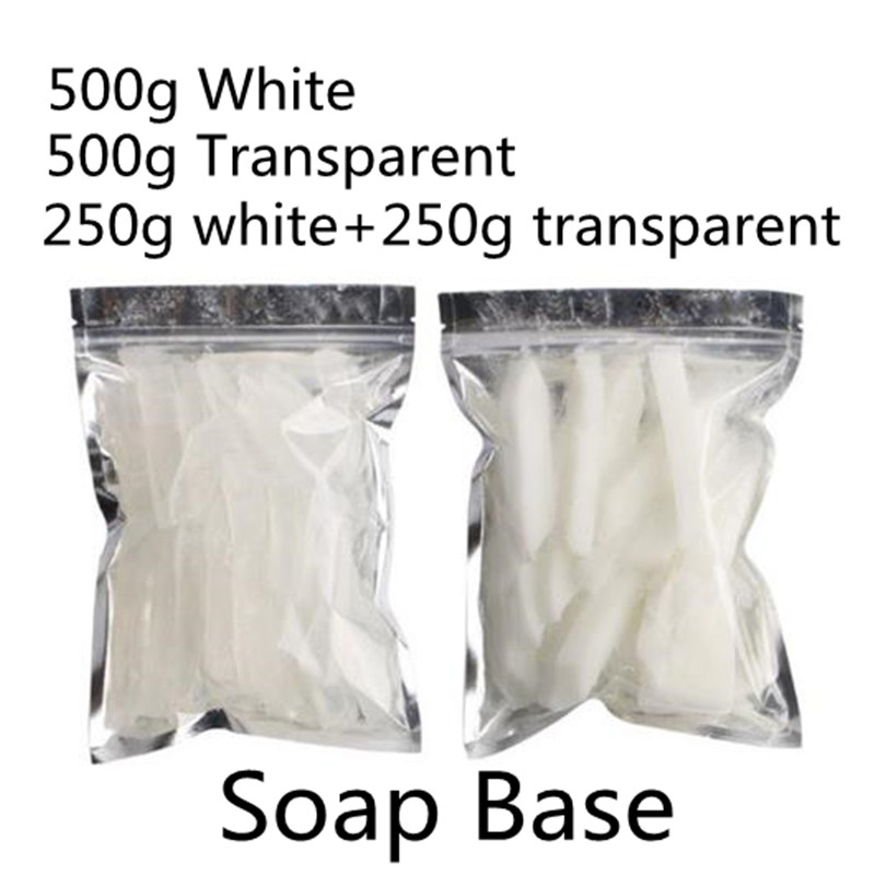 500g White Soap Base, Transparent DIY Soap Base, Makeing Handmade Soap For Washing Body Hand Or Clothes