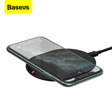 Baseus 15ワットチーワイヤレス充電器iphone 11プロx xs最大xr 8プラスairpodsための急速充電プロサムスンS9 S10 huawei社P30プロ