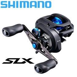 Carrete de Baitcasting SHIMANO SLX CC/SLX XT/SLX carrete de pesca 4 + 1BB nuevo SVS sistema de frenado infinito 8,2/7,2/6,3 Ratio HAGANE BODY