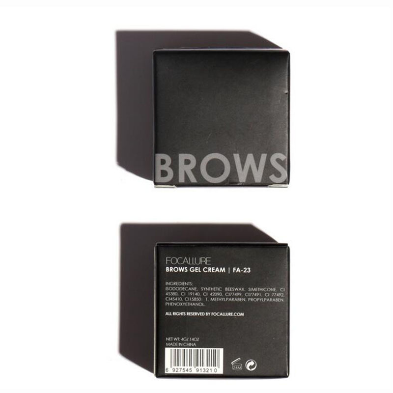 5 Color Eyebrow Tint Makeup Waterproof Eyebrow Pomade Gel Enhancer Cosmetic Eye Makeup Eye Brow Cream with Brush Professional 3