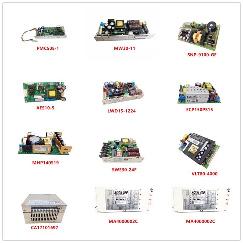 PMC50E-1| MW30-11| SNP-9100-GE| AES10-5| LWD15-1224| ECP150PS15| MHP140S19| SWE30-24F| VLT80-4000| CA17101697| MA4000002C Used