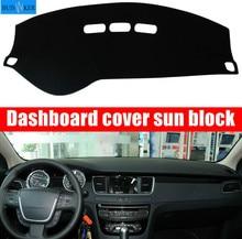 For Peugeot 208 2012~2019 Active Allure GTI 2015 Dashboard Cover Sun Shade Dash Mat Pad Carpet Car Stickers Interior Accessories