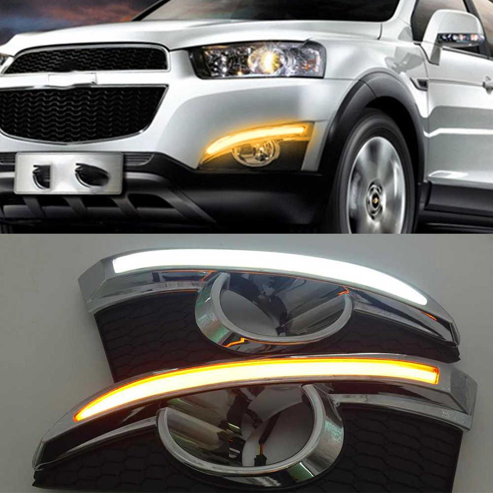 QQKLP Tagfahrlicht Blinker-Relais-Art 12V-Auto-LED Tagfahrlicht Tagfahrlicht mit Nebellampen Loch Fit f/ür Mazda CX-5 Cx5 Cx 5 2012 2013 2014 2016